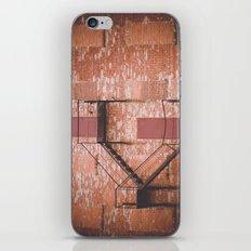 red brick, fire escape iPhone & iPod Skin