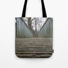 Fall Bridge Tote Bag