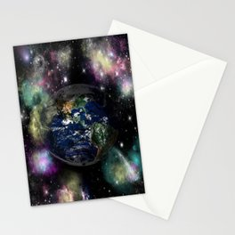 lion earth Stationery Cards