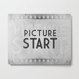 Picture Start Frame Metal Print