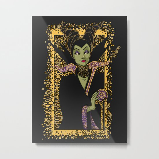 The Dark Faerie Metal Print