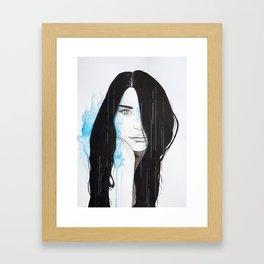 Flames Framed Art Print