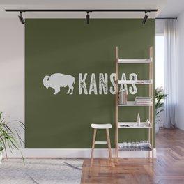 Bison: Kansas Wall Mural