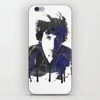 bob dylan iPhone & iPod Skins featuring bob dylan by manish mansinh
