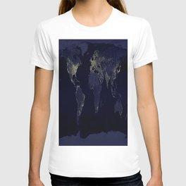 Earth at Night T-shirt