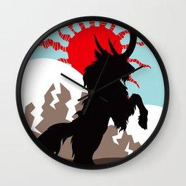 Shadow of the Kirin Wall Clock