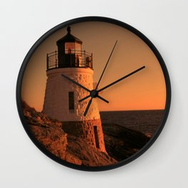 Castle Hill Light Wall Clock