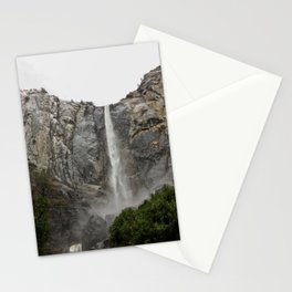 Yosemite - Braidalvail Falls Stationery Cards