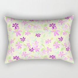 Clematis - Large scale Rectangular Pillow