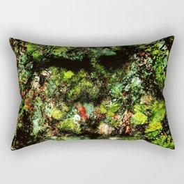 Old Tree Face Rectangular Pillow