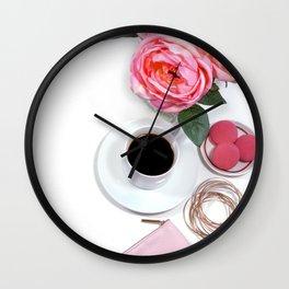 Hues of Design - 1027 Wall Clock