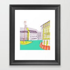 Urban Life II Framed Art Print