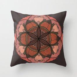 SACRED FLORAL Throw Pillow