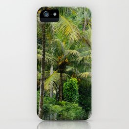 The Forager Through The Trees iPhone Case