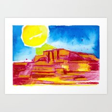 The Sun Doesn't Shine Only on You Art Print