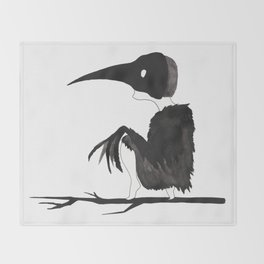 The boy named Crow Throw Blanket