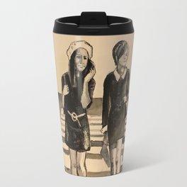 Badger crossing Travel Mug