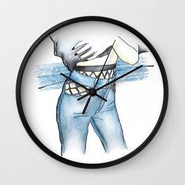 Rock it Wall Clock