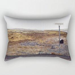 Post box, Iceland Rectangular Pillow