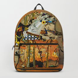 Carousel Magic - Merry-go-Round Backpack