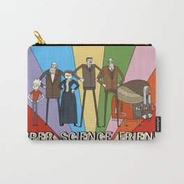 Super Science Friends Team Carry-All Pouch