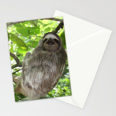 Sloths in Nature Stationery Cards