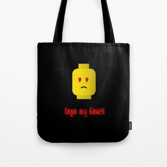 Lego My Heart Tote Bag