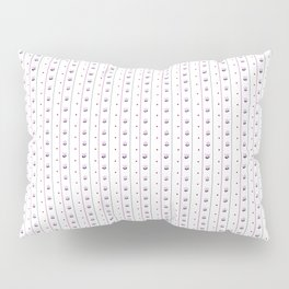 Orchid/Navy Stripe Pillow Sham
