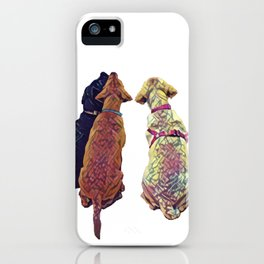 Three Amigos I iPhone Case