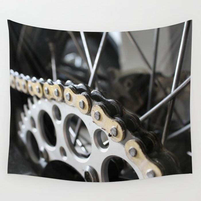 Chains Wall Tapestry