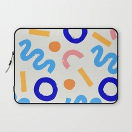 Bight Strokes Laptop Sleeve