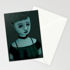 Night Girl II Stationery Cards
