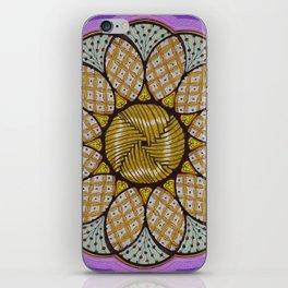 Abundance mandala - מנדלה שפע iPhone Skin