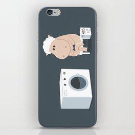 Wool wash iPhone Skin