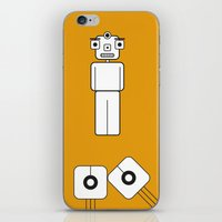 lab iPhone & iPod Skins featuring Lab Man by Artricca