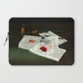 Bullet extraction Laptop Sleeve