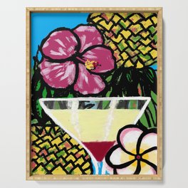 Pineapple Martini Serving Tray