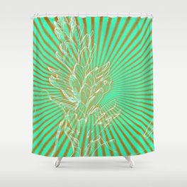 In the Sunbeams Shower Curtain