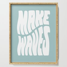 Make Waves Serving Tray