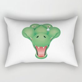 aligator Rectangular Pillow