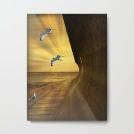 Sea Breezes. Metal Print