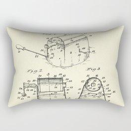 Coffee Roaster-1923 Rectangular Pillow