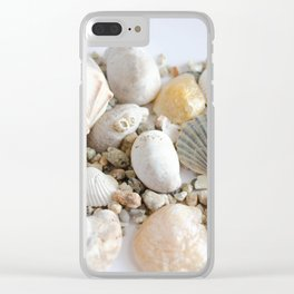Seashell Clear iPhone Case