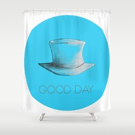 Top Hat Shower Curtain