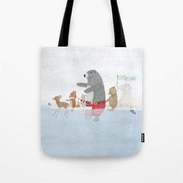 little surf days Tote Bag