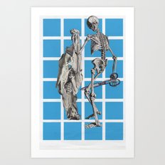 Laugh At Death Art Print