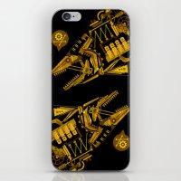 cyberpunk iPhone & iPod Skins featuring Cyberpunk fish by Oceloti