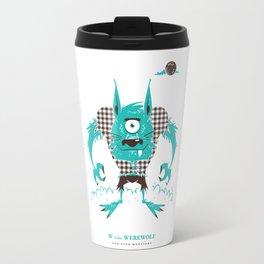 W is for Werewolf Travel Mug