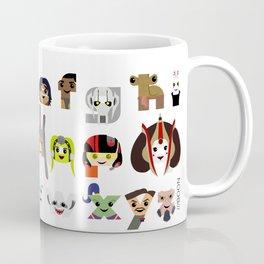 ABC3PO Episode II Coffee Mug
