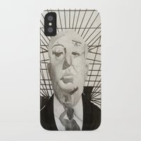hitchcock iPhone & iPod Cases featuring Hitchcock by Abbi Burrows